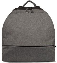 """Côte&Ciel Black Melange 15"""" Meuse Folded Backpack Picture"""