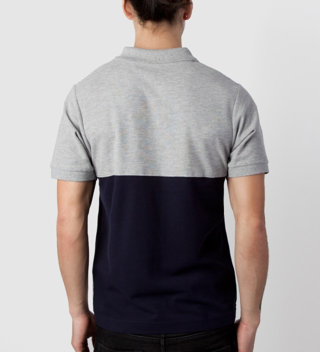 Grey/Navy 2 Tone Polo