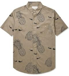 VAINL ARCHIVE Beige Hige & Pine Shirt Picutre