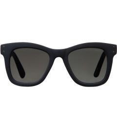 KOMONO Midnight Blue Rubber Allen Sunglasses Picutre