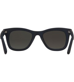 KOMONO Midnight Blue Rubber Allen Sunglasses Model Picture