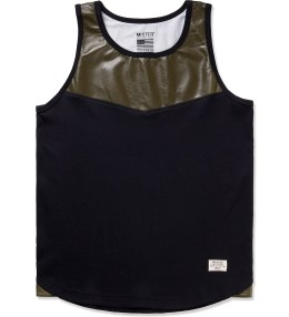 Mister Army Perforated Hide Tank Top  Picture