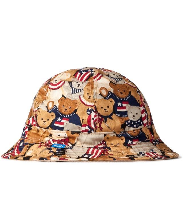 Patriotic Bear/3 Color Desert Camo Reversible Liberty Bucket Hat