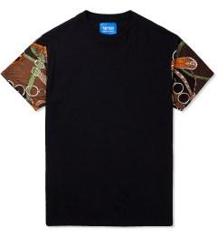 Tantum Black Streetwear Luxury Sleeves T-Shirt Picutre
