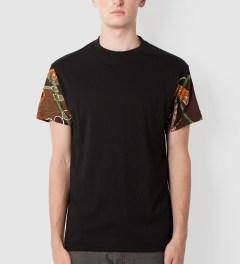Tantum Black Streetwear Luxury Sleeves T-Shirt Model Picutre