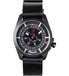 Miansai Black M1 All Leather Watch Picutre