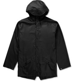 RAINS Black Jacket Picutre