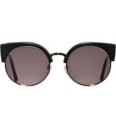 SUPER BY RETROSUPERFUTURE Black Lizard Sunglasses Picutre