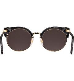 SUPER BY RETROSUPERFUTURE Black Lizard Sunglasses Model Picutre