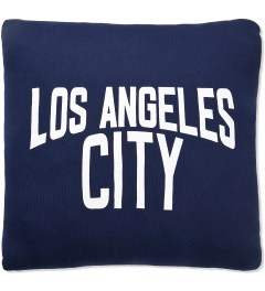 SECOND LAB Navy Los Angeles City Pillow Picutre