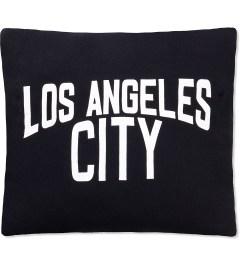 SECOND LAB Black Los Angeles City Pillow Picutre