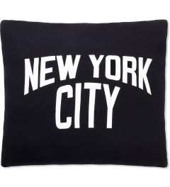 SECOND LAB Black New York City Pillow Picture