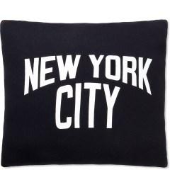 SECOND LAB Black New York City Pillow Picutre