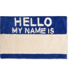 SECOND LAB Blue Hello My Name Is Rug Picutre