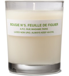 A.P.C. Bougie n°5 Feuille De Figuier A.P.C Candle Picutre