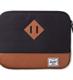 Herschel Supply Co. Black Heritage Sleeve for iPad Picture