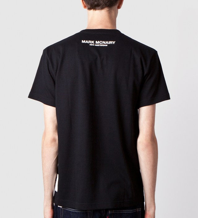 Black Hey Hey My My Print T-Shirt
