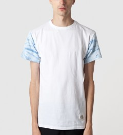 Mister White Mr. Tie-dye Sleeve T-Shirt Model Picture