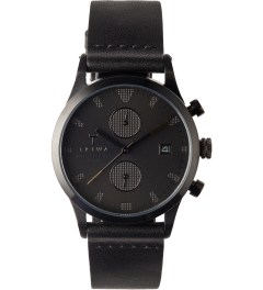 TRIWA Sort of Black Chrono Miyotta 0511 Movement Watch Picutre