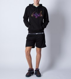 Odd Future Black High Gradient Hoodie Model Picutre