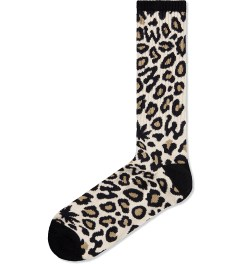 Odd Future Tan Domo Cheetah Sock Picutre