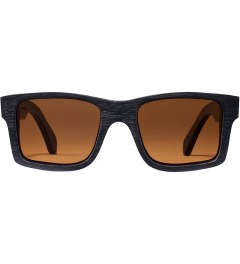 Shwood Dark Walnut Brown Polarized Haystack Sunglasses Picture