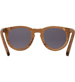 Shwood Oak Grey Belmont Sunglasses Model Picutre