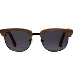 Shwood Walnut Black Grey Eugene Sunglasses Picture