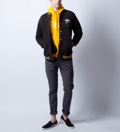 Frank Yellow Hoodie Model Picture