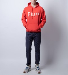 Frank Paprika Hoodie Model Picture
