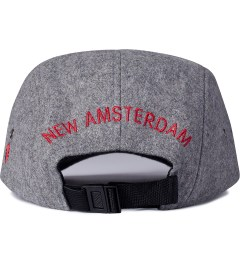 Mark McNairy for Heather Grey Wall Grey Inferior Jet Cap  Model Picutre