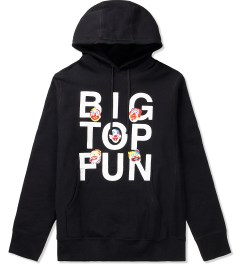 Mark McNairy Black Big Top Hoodie Picutre