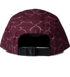Mister Maroon Mister x FM Brains Camp Cap Model Picture