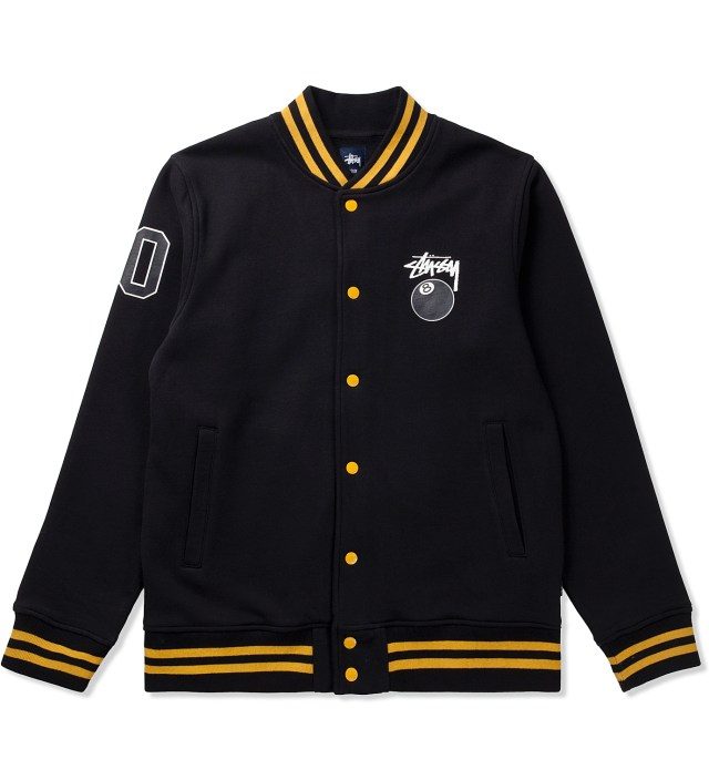 Black 8 Ball Varsity Jacket