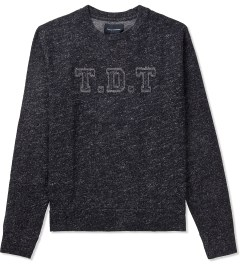 Tourne de Transmission Black/White TDT Branded Sweater Picutre