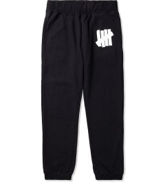 Undefeated Black/White 5 Strike Sweatpants Picutre