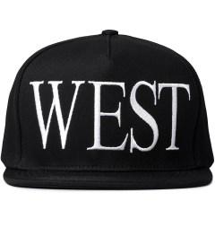 Stampd Black West Snapback Cap Picutre