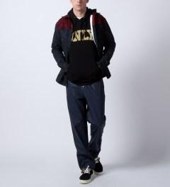 RAINS Blue Pants  Model Picture