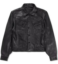 HSTRY x Grungy Gentleman Black HSTRY x Grungy Gentleman Denim Style Jacket  Picture
