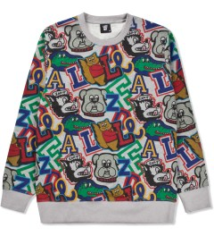 Lazy Oaf Mascot Logo Sweater  Picture