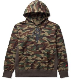 Mark McNairy for Heather Grey Wall Camo TCMFB Parka Hoodie Picutre