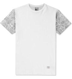 Mister White/Silver Mr. Metallic Snake T-Shirt  Picture