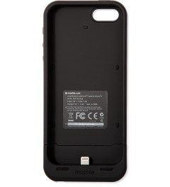 mophie Black Juice Pack Air for iPhone 5/5S Model Picture