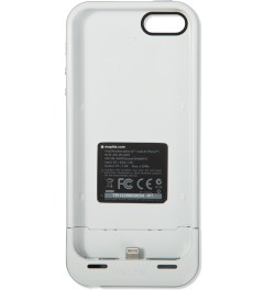 mophie White Juice Pack Air for iPhone 5/5S Model Picutre