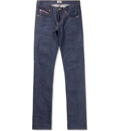 Naked & Famous Indigo Stretch Selvedge Super Skinny Guy Jean Picture