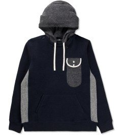 CASH CA Navy Glass Pocket Parka Picutre