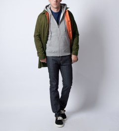 P.A.M. Olive Ronny Jacket  Model Picture