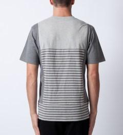 P.A.M. Grey Marle Folie T-Shirt  Model Picture