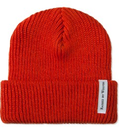 Raised by Wolves Safety Orange Watch Cap Picture