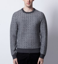 Surface to Air Grey Vostok V1 Knitwear  Model Picture